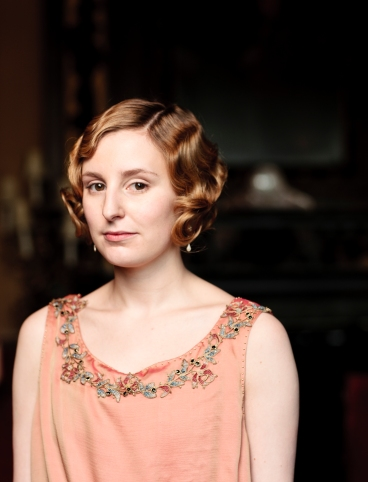 Lady Edith Downton Abbey series 3.